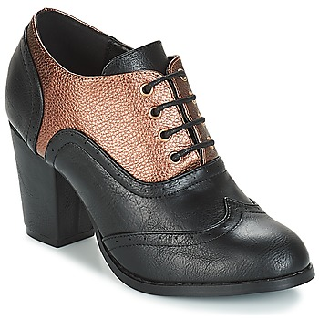Shoes Women Shoe boots Moony Mood JOIRTUA Black / Bronze