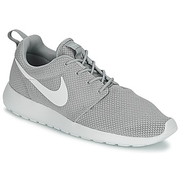 Shoes Men Low top trainers Nike ROSHE RUN Grey / White