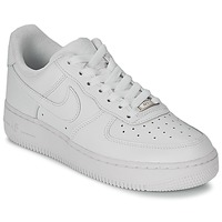 Low top trainers Nike AIR FORCE 1 07 LEATHER