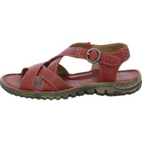 Shoes Women Sandals Josef Seibel Lucia 01 Red