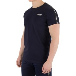 Clothing Men T-shirts & Polo shirts Fresh Couture Men's Tapered T-Shirt, Blue blue