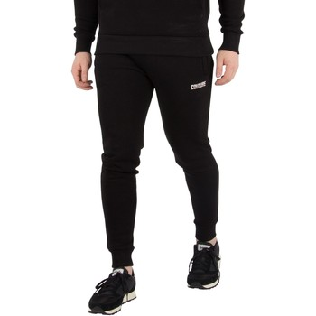 Clothing Men Tracksuit bottoms Fresh Couture Men's Core Joggers, Black black