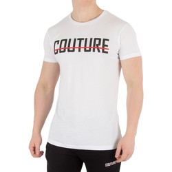 Clothing Men short-sleeved t-shirts Fresh Couture Men's Core T-Shirt, White white