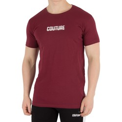 Clothing Men T-shirts & Polo shirts Fresh Couture Men's Logo T-Shirt, Red red