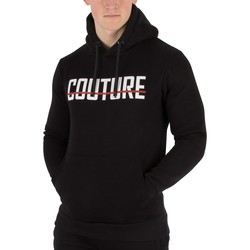 Clothing Men jumpers Fresh Couture Men's Core Pullover Hoodie, Black black