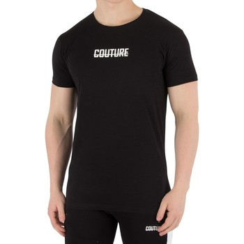 Clothing Men T-shirts & Polo shirts Fresh Couture Men's Logo T-Shirt, Black black