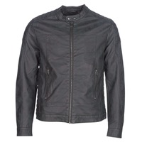 Clothing Men Leather jackets / Imitation leather Esprit VENI Black