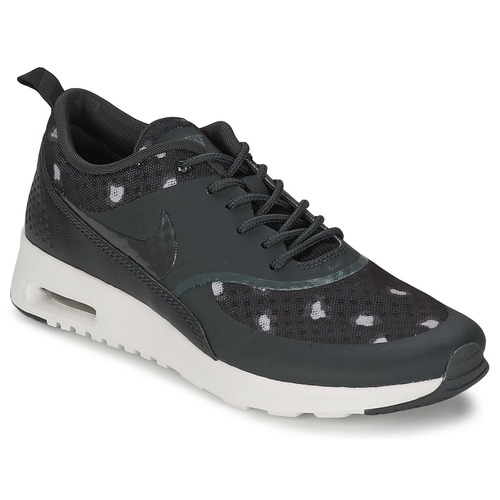 Shoes Women Low top trainers Nike AIR MAX THEA PRINT Black