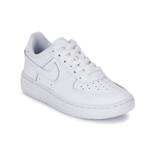 Shoes Children Low top trainers Nike AIR FORCE 1 CADET White