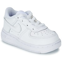 Shoes Boy Low top trainers Nike AIR FORCE 1 06 TODDLER White