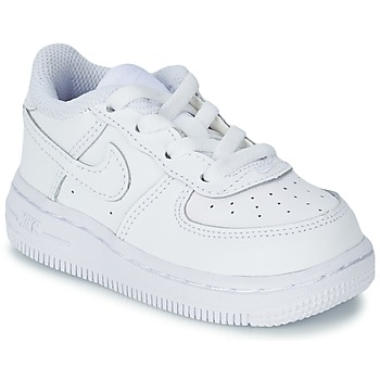 Shoes Children Low top trainers Nike AIR FORCE 1 06 TODDLER White