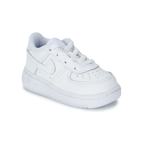 premium selection d8641 5a1fa Shoes Children Low top trainers Nike AIR FORCE 1 06 TODDLER White