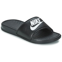 Shoes Men Sliders Nike BENASSI JUST DO IT Black