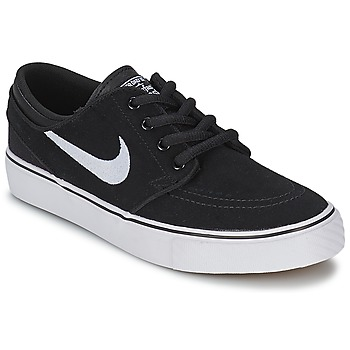 Shoes Boy Low top trainers Nike STEFAN JANOSKI JUNIOR Black