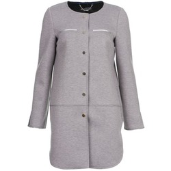 Clothing Women coats La City FLORA Grey