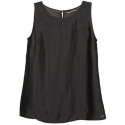 Clothing Women Tops / Sleeveless T-shirts La City LUCRETIA Black