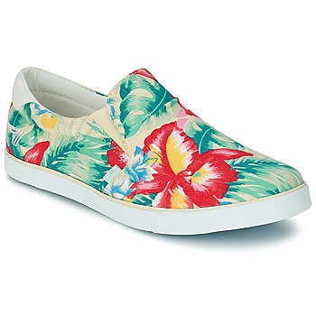Shoes Women Slip ons Gola DELTA HIBISCUS ECRU / Multicoloured