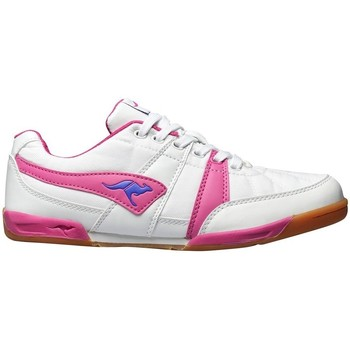 Shoes Women Low top trainers Kangaroos Field 3015 White-Pink