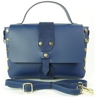 Bags Handbags Vera Pelle VPK789BS Navy blue
