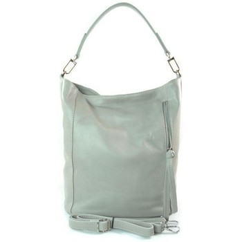 Bags Handbags Vera Pelle W585GC Grey