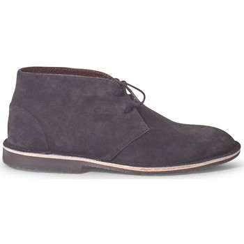 Shoes Men Mid boots The Idle Man Suede Desert Boot Brown Brown