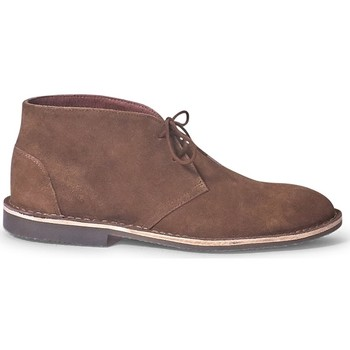 Shoes Men Mid boots The Idle Man Suede Desert Boot Tan Other