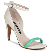 Shoes Women Sandals French Connection NANETTE Pink / Green