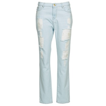 Clothing Women Straight jeans Cimarron BOY Blue / Clear