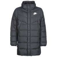 Clothing Men Duffel coats Nike BRENLA Black