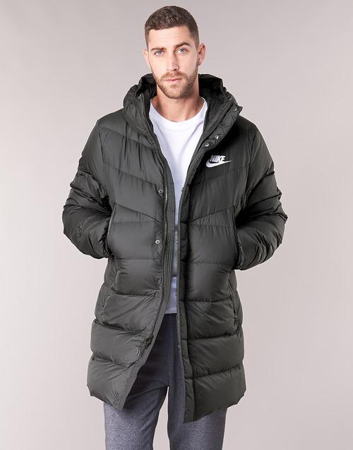 Clothing Men Duffel coats Nike BRENLA Black
