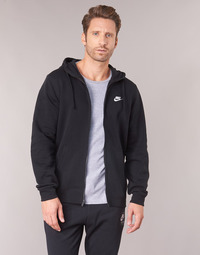 Clothing Men sweaters Nike HOODIE SPORT Black