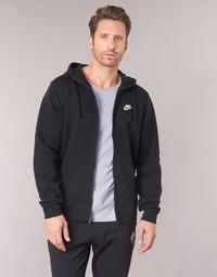 Clothing Men sweaters Nike HOODIE SPORT Black