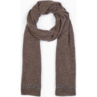 Clothes accessories Women Scarves / Slings Max & Moi Scarf SCARFDIAMOND Brown Woman Autumn/Winter Collection Brown