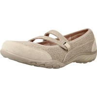 Shoes Women Trainers Skechers BREATHE EASY PRETTY SWAGGER Light Brown