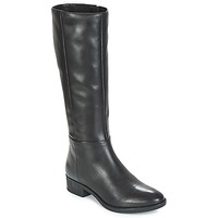 Shoes Women High boots Geox D FELICITY Black
