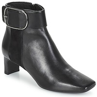 Shoes Women Ankle boots Geox D VIVYANNE MID Black