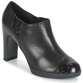 Shoes Women Shoe boots Geox D ANNYA HIGH Black