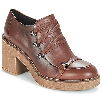 Shoes Women Shoe boots Geox D ADRYA MID Brown