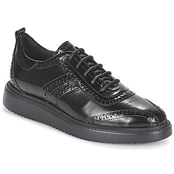 Shoes Women Derby Shoes Geox D THYMAR Black