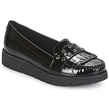 Shoes Women Loafers Geox D BLENDA Black