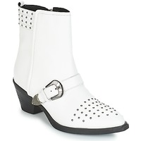 Shoes Women Ankle boots Geox D LOVAI White