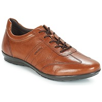 Shoes Men Low top trainers Geox UOMO SYMBOL Brown