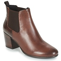 Shoes Women Ankle boots Geox D NEW LUCINDA Brown