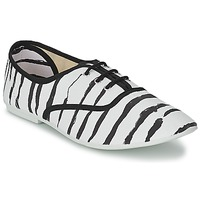 Shoes Women Low top trainers Chipie JO PRINT Zebra
