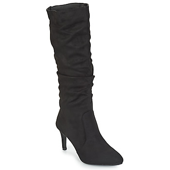 Shoes Women High boots Spot on BRUXEA Black