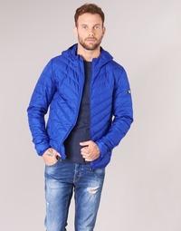 Clothing Men Duffel coats Emporio Armani EA7 TRAIN CORE SHIELD 8NPB09 Blue / Electric