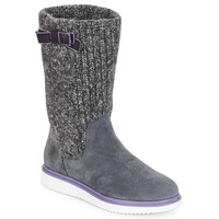 Shoes Girl High boots Geox J THYMAR GIRL Grey
