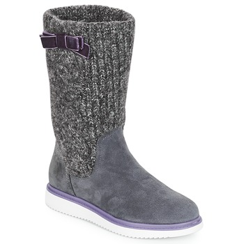 Shoes Girl High boots Geox J THYMAR GIRL Grey