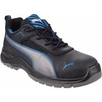 Shoes Men Low top trainers Puma Safety Mens Atomic Low Lace Up Safety Trainer Black