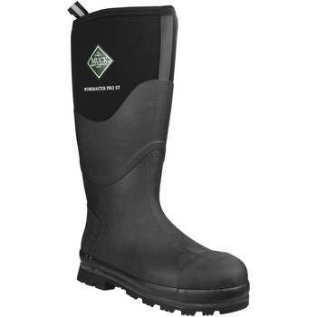 Shoes Wellington boots Muck Boots Unisex Workmaster Pro High Waterproof Safety Wellington Black